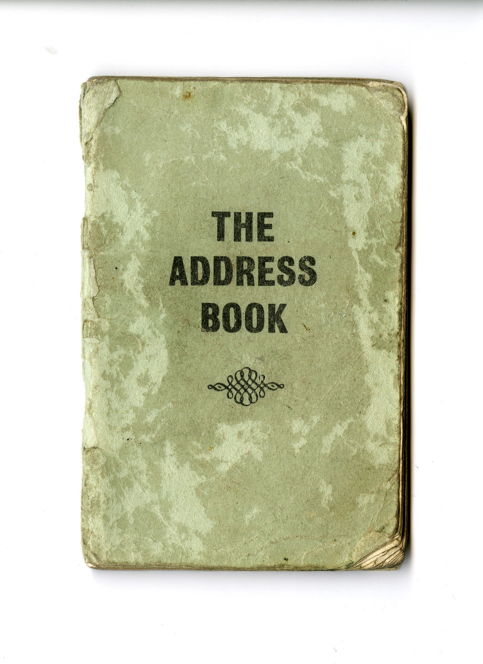 The cover of the first, 1965 edition of Bob Damron's Address Book.