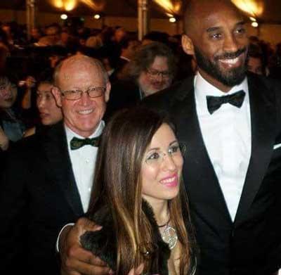 Glen Keane, Dani Bowman and Kobe Bryant, from left to right | Dani Bowman
