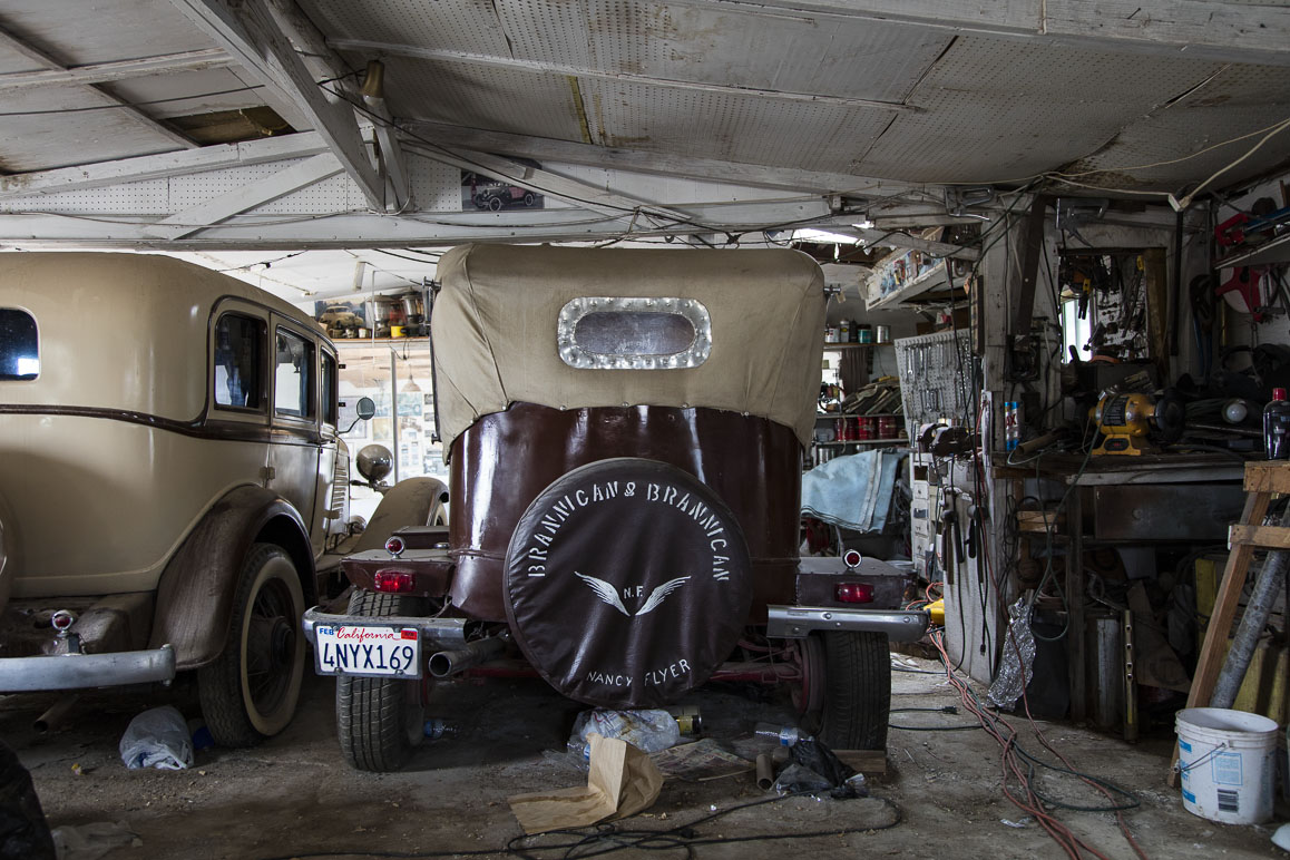 The Brannigan's customized vintage automobiles