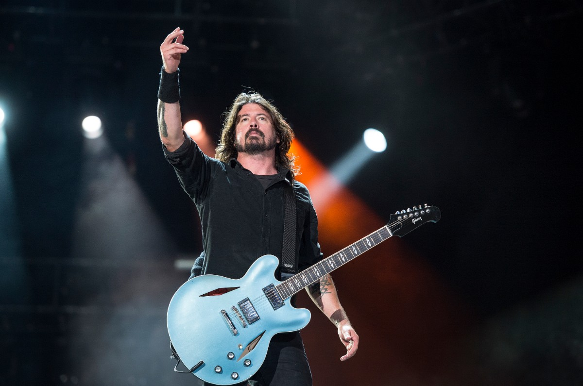 Dave Grohl in 2013 | Fernando Aceves