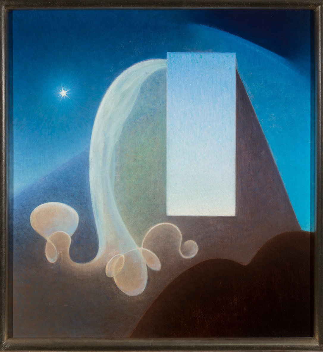 "Agnes Pelton, ""Day,"" 1935. Oil on canvas. 