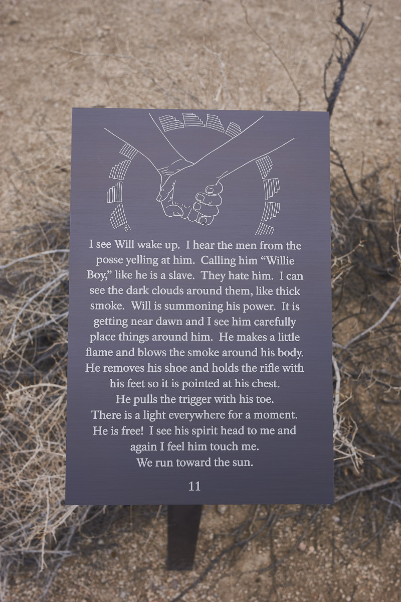 Plaque 11 at the Joshua Tree National Park. | Photo: Ruth Nolan.