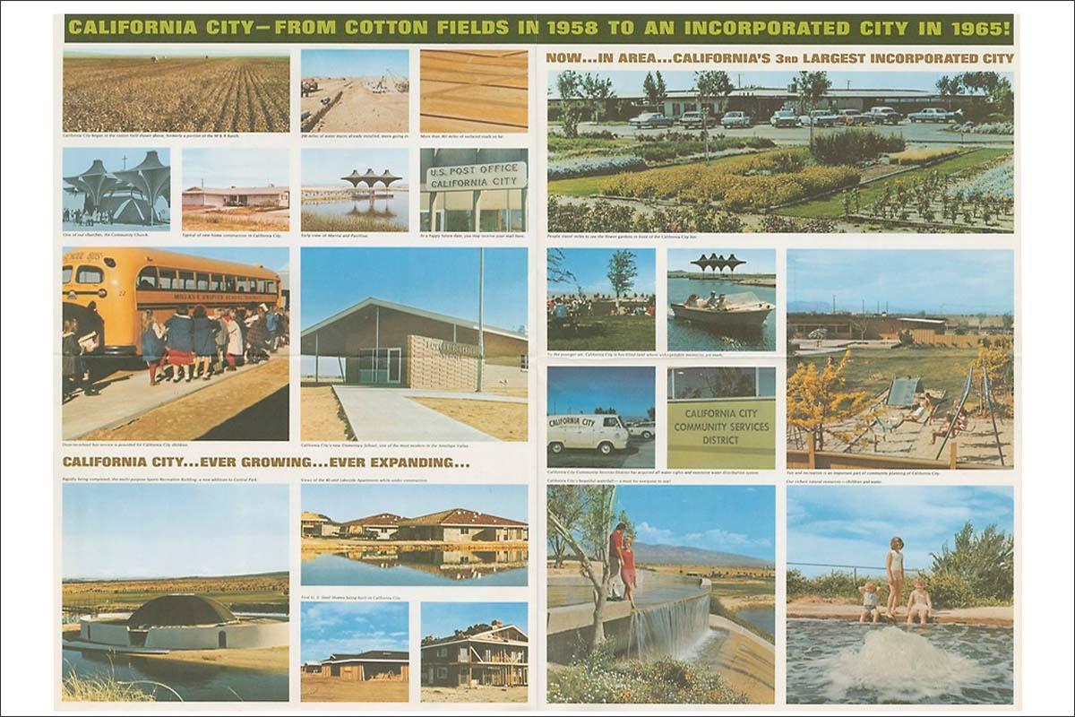 A print advertisement for California City. Circa 1965. | Smith & Williams records, Architecture and Design Collection. Art, Design & Architecture Museum; University of California, Santa Barbara
