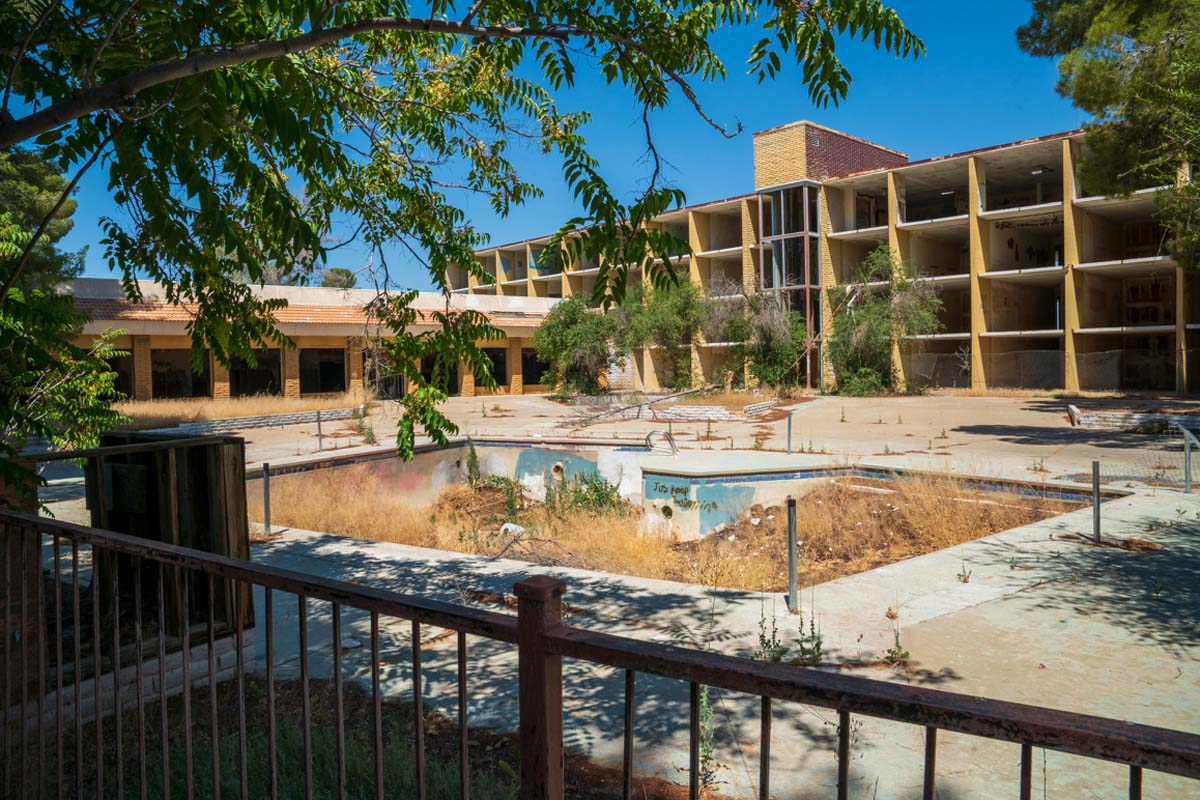 """The gutted Holiday Inn at California City's lake shore has been slated for a """"80 units for custom affordable smart homes with 2MW of energy storage and microgrid data center,"""" states the CalCitypower.com website. 