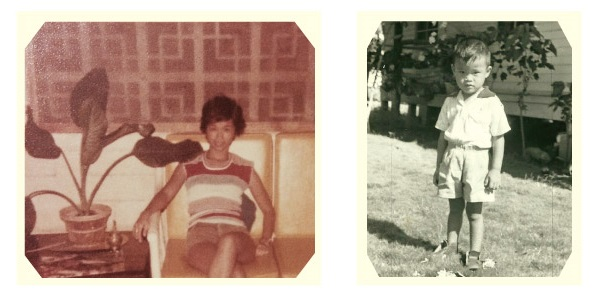 Diao, two family photos. The author's mother (left) and father (right).