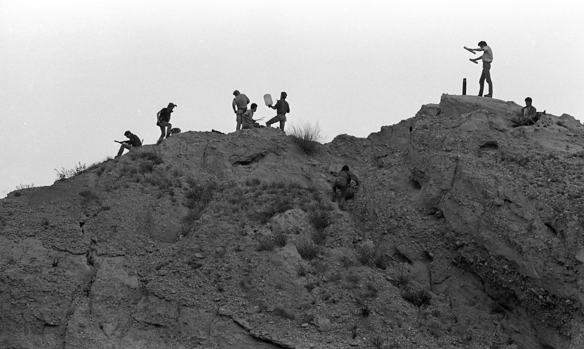 Djemaa el Fna, Desolation Center: Mojave Auszug, 1984 | Scot Allen