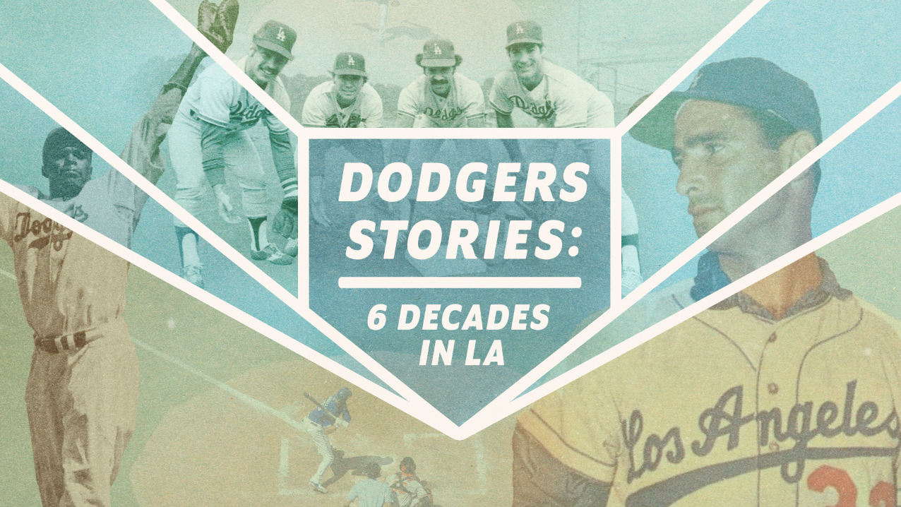 Dodgers Stories hero art