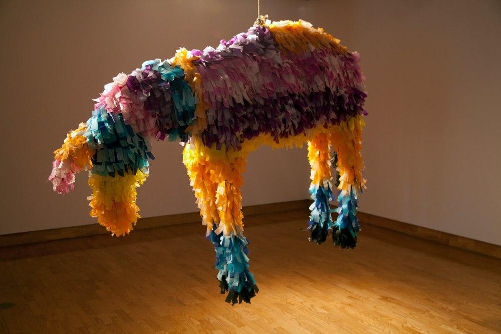 Justin Favela, Donkey Piñata. 2010 | Krystal Ramirez