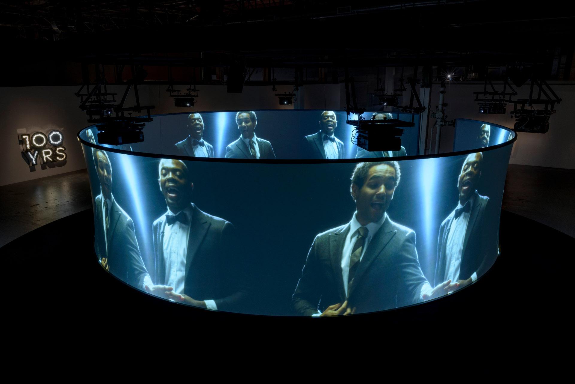 "Doug Aitken, ""Electric Earth"" at MOCA. | Photo: Joshua White"