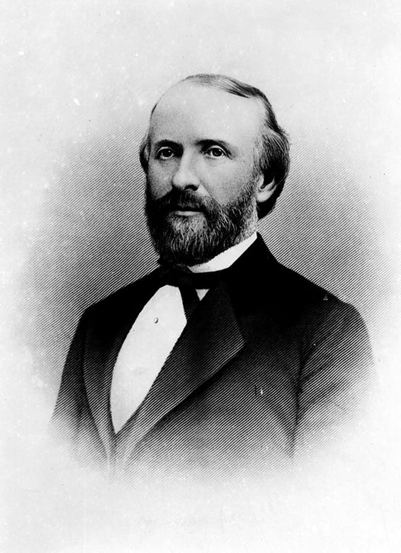 John Gately Downey. Governor Downey's support for secessionists ended his political career. Photograph courtesy of Security Pacific National Bank Collection, Los Angeles Public Library