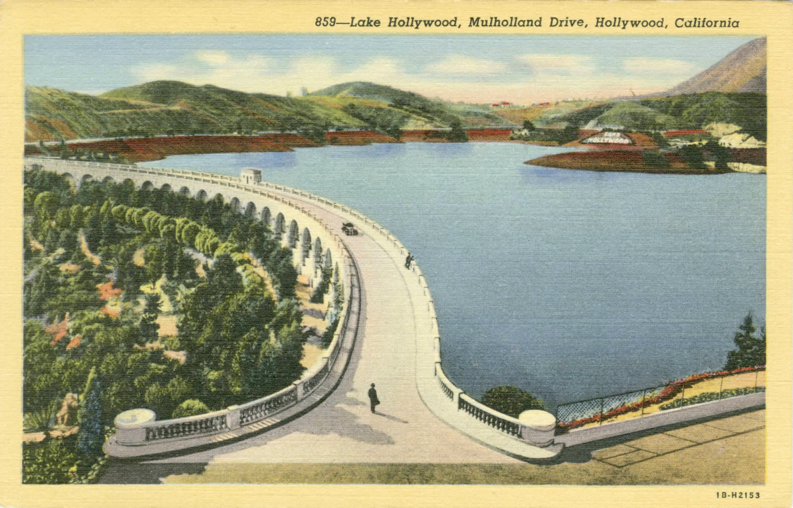 Mulholland Dam in 1941