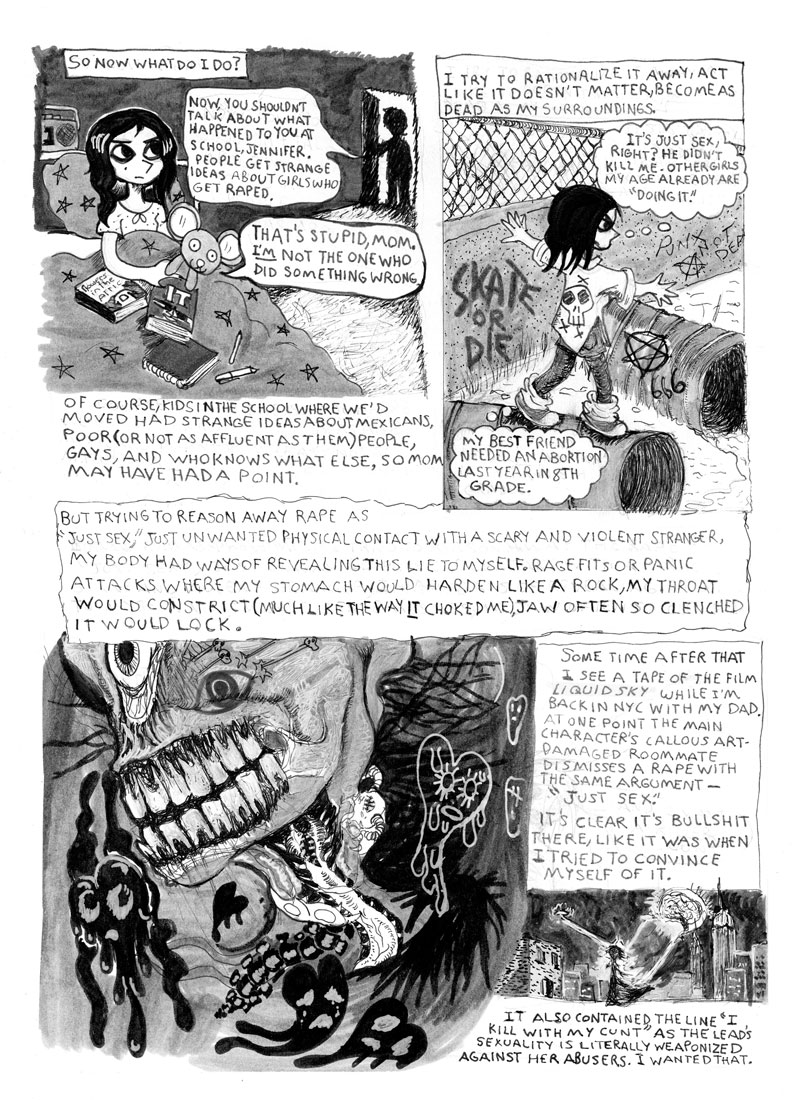"""'Blackie' From the Deuce"" (page 3) 