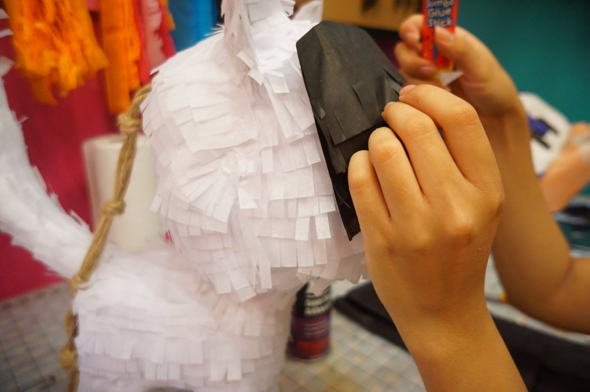 Making a piñata | Courtesy of Piñata Design Studio