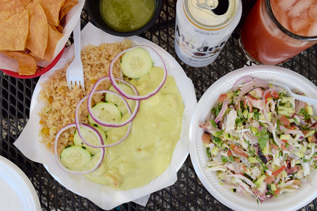 Camarones culiches and ceviche mixto | Danny Jensen