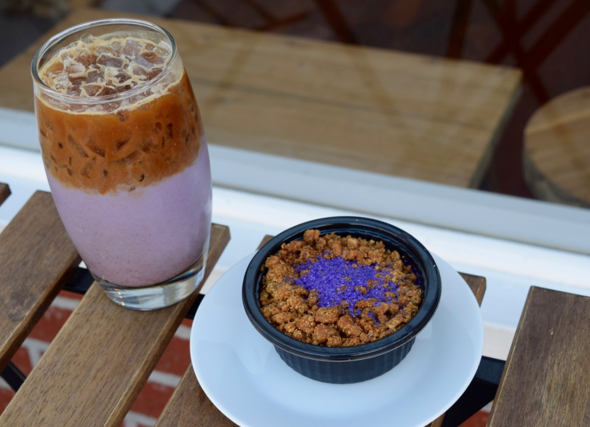 Ube horchata and ube upside down pie | Danny Jensen