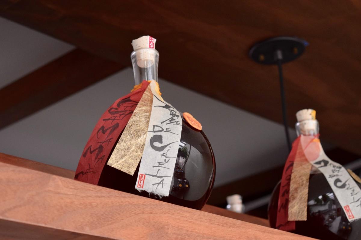 Jars of plum syrup at Rosaliné   Danny Jensen