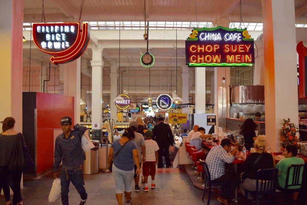 Grand Central Market main thoroughfare | Danny Jensen