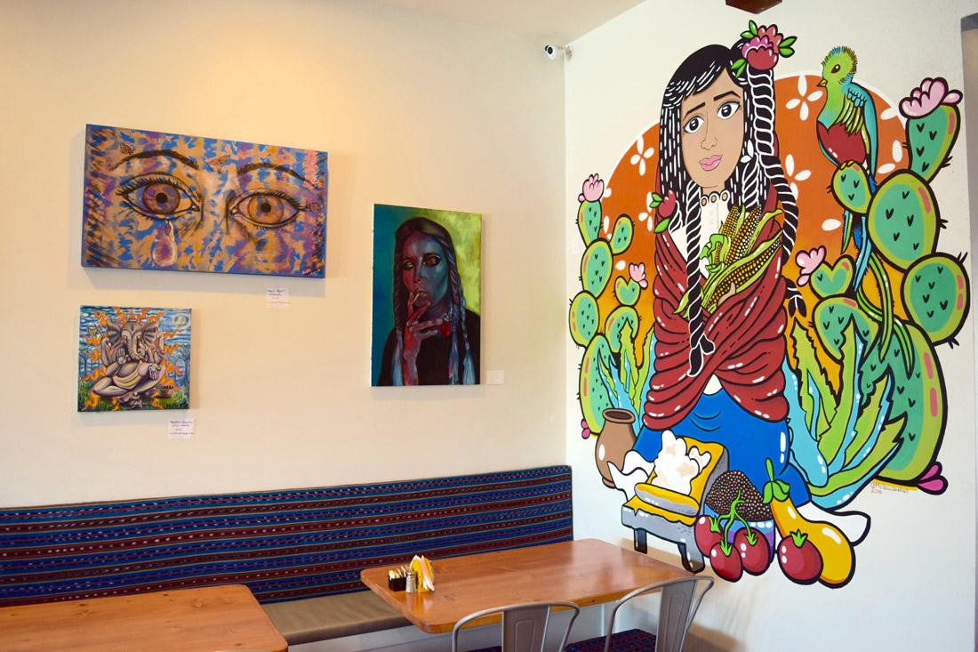 Art inside Canela Cocina Latina   Danny Jensen