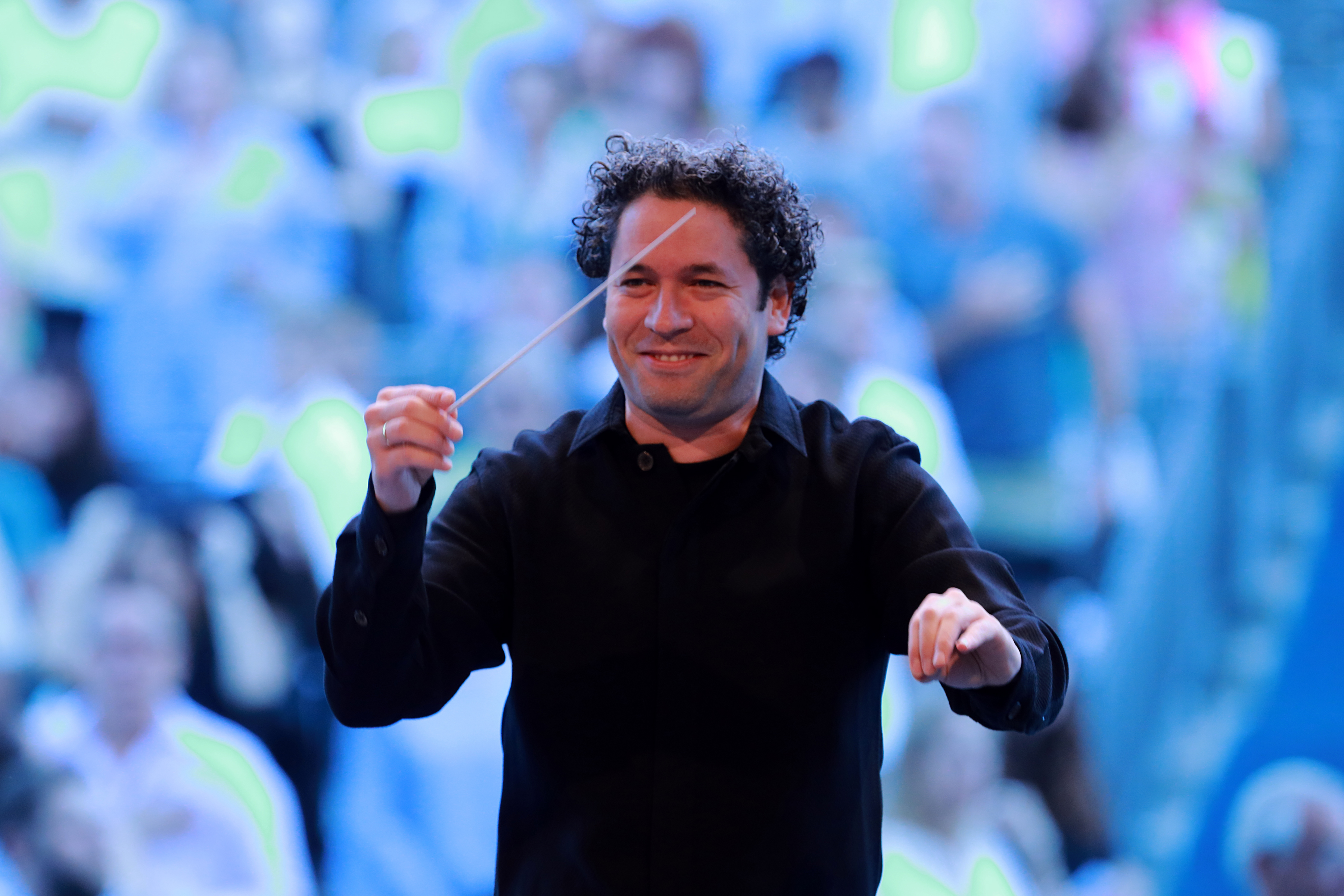 Gustavo Dudamel, host of the new series IN CONCERT AT THE HOLLYWOOD BOWL (Image courtesy of Adam Latham)