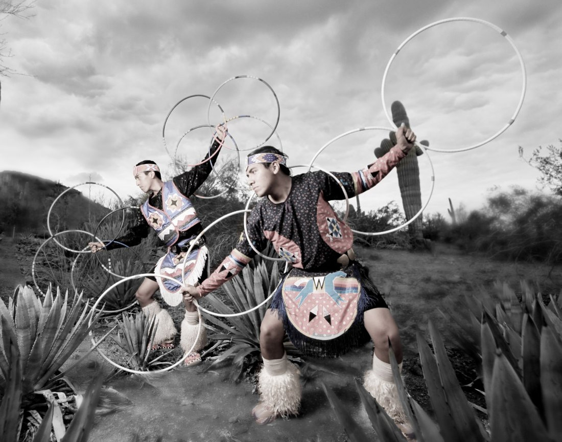Duncan Dancers of the Tulalip tribe. Photographed by Matika Wilbur for Project 562.