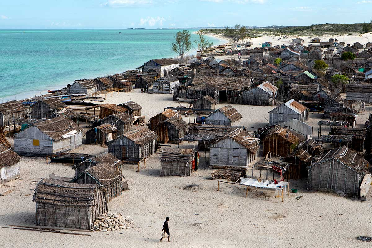 Fishing village in Madagascar. | Nicky Milne/Thomson Reuters Foundation