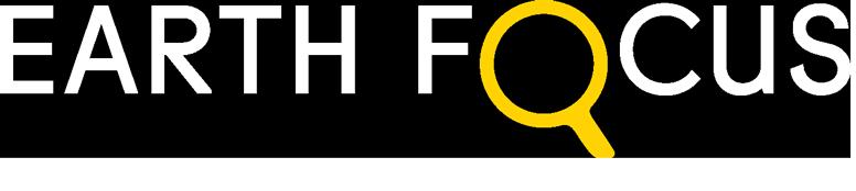Earth Focus Logo (white)