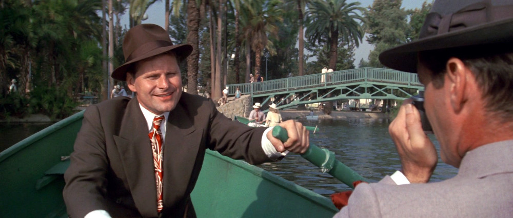 "Echo Park Lake as seen in 1974's ""Chinatown."""