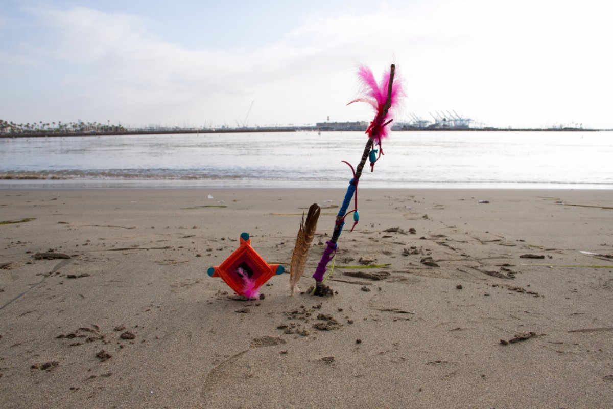 "Edgar Fabian Frais ""Spider Give Us Home (Ritual 1: Cabrillo Beach)"" 