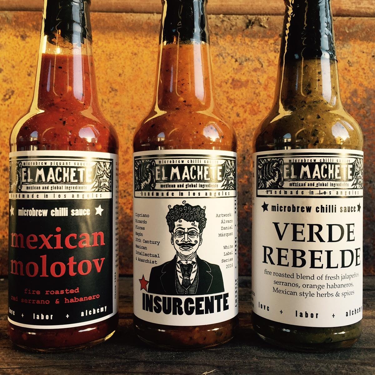 El Machete hot sauces | Courtesy of El Machete