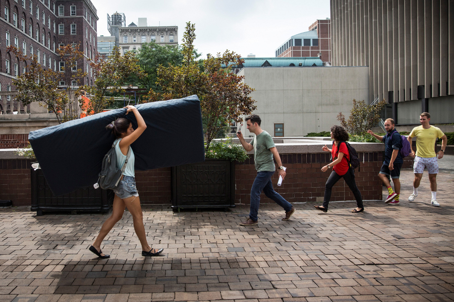 "Emma Sulkowicz, ""Mattress Performance"""