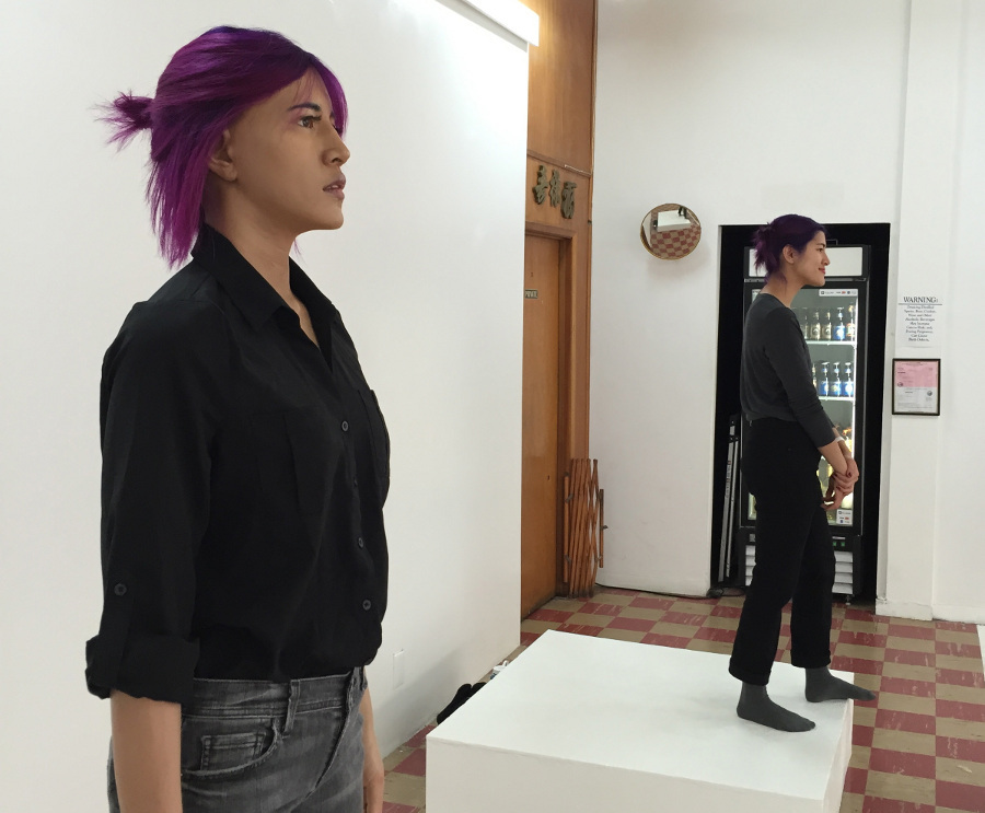 "Emma Sulkowicz, ""Self-Portrait"" at Coagula"