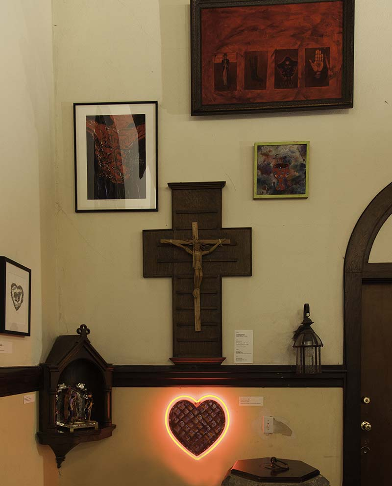 Artwork at the Church of the Epiphany | Courtesy of Ravi GuneWardena La Raza AB s9