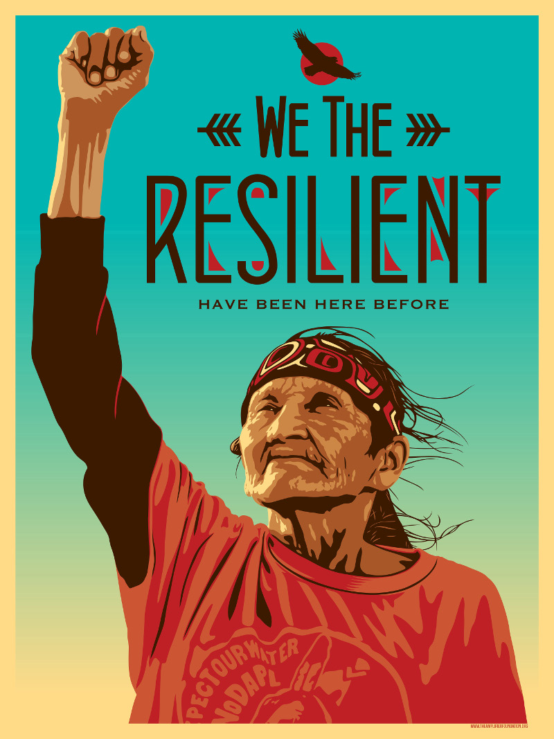 """We The Resilient"" by Ernesto Yerena. 