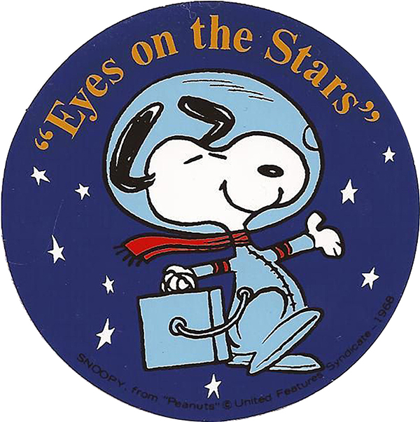 """Eyes on the Stars"" patch from 1968 