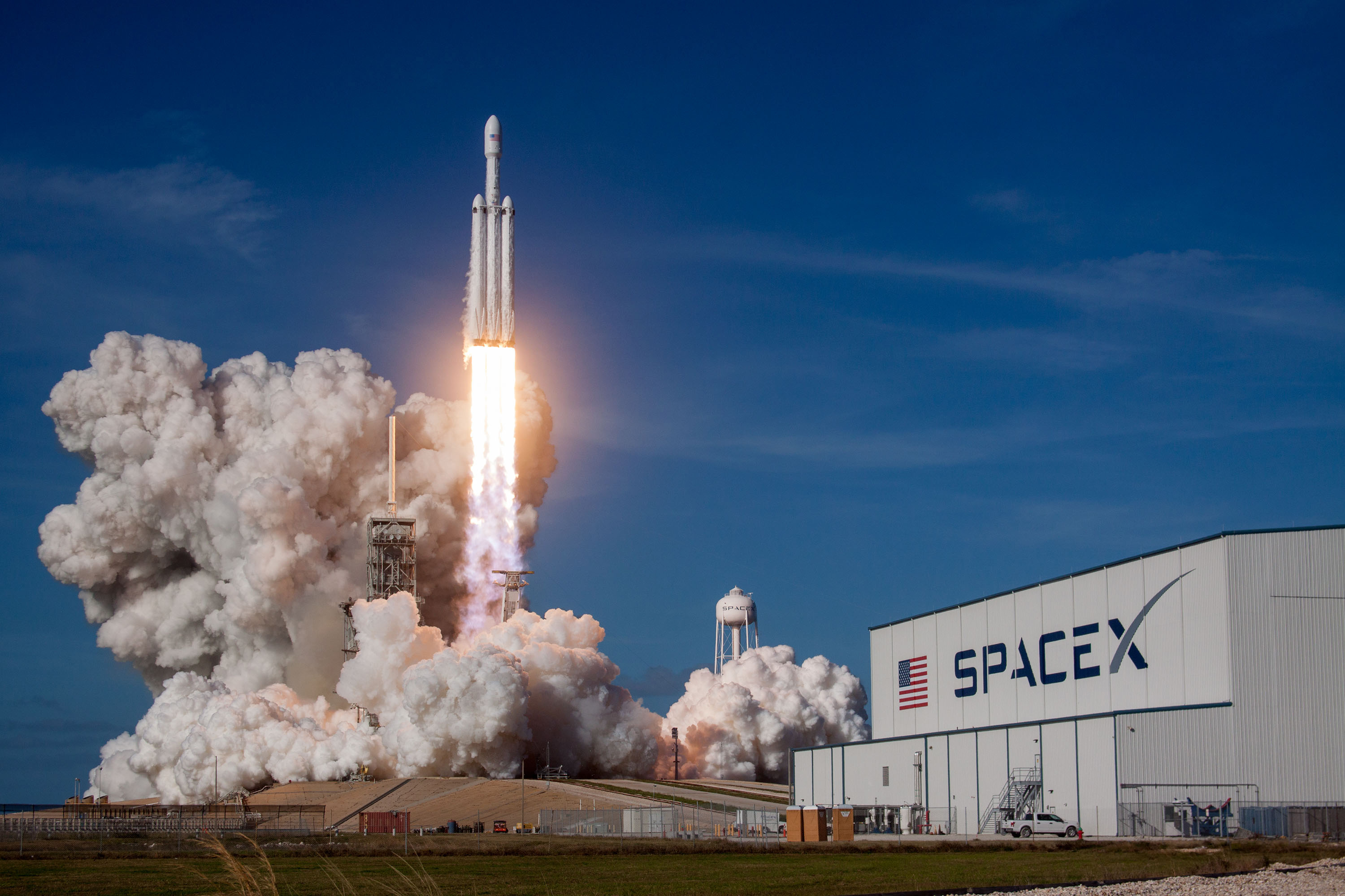 "From episode four: ""Back to the Future"" The Space X Falcon Heavy. Courtesy of Flickr."