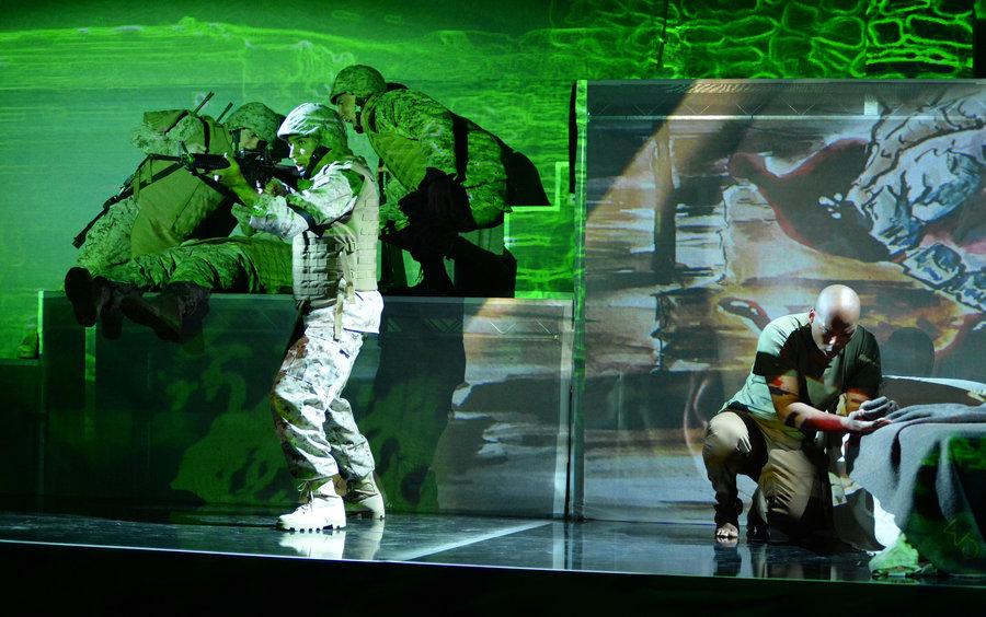 """""""Fallujah,"""" Long Beach Opera"""