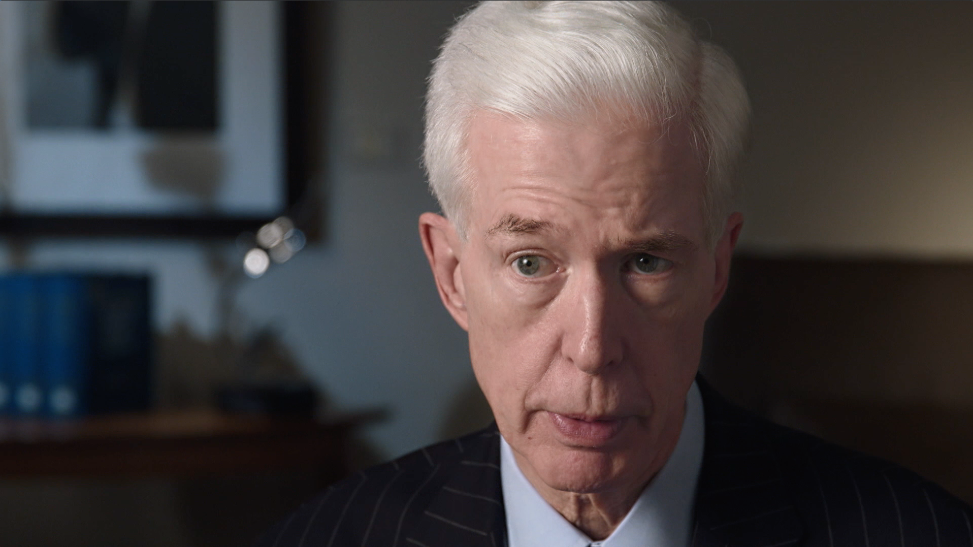 Former Gov. of California Gray Davis featured in THE FIRST ANGRY MAN.