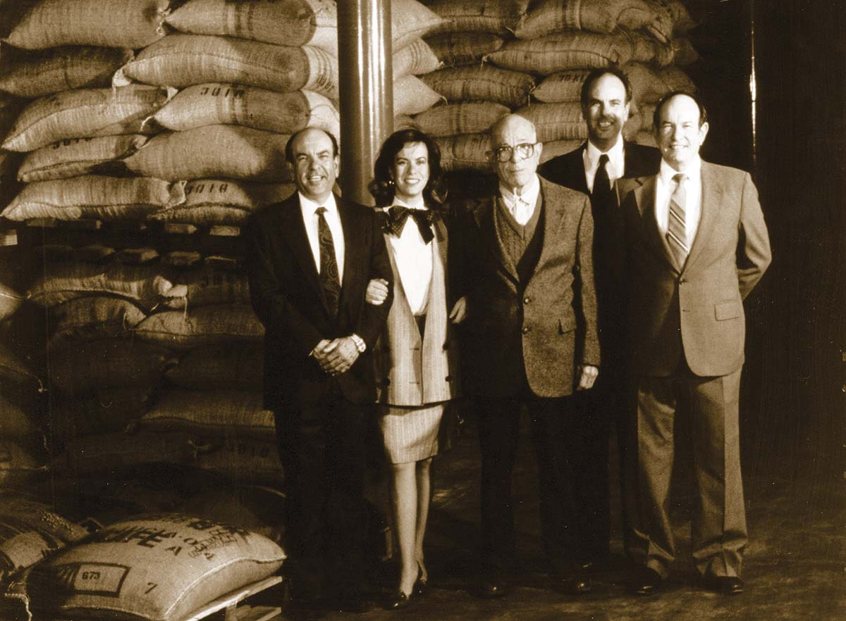 Gaviña family portrait in the 80s | Courtesy of Gaviña Coffee Company