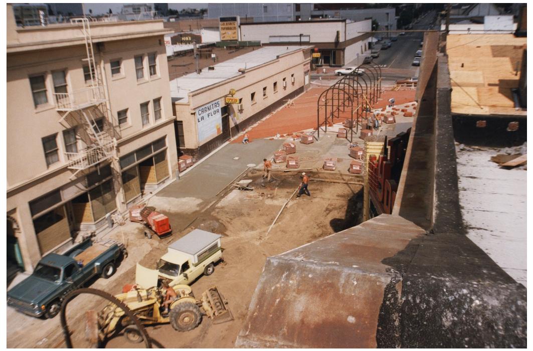 Fiesta Marketplace Construction 1980s