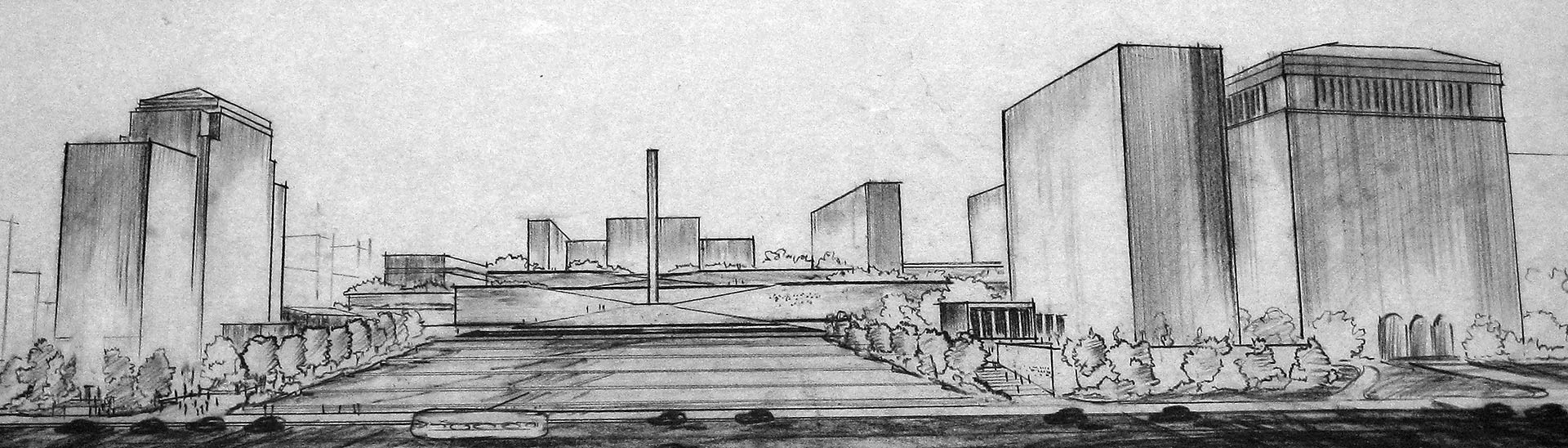 Turner rendering, 1946