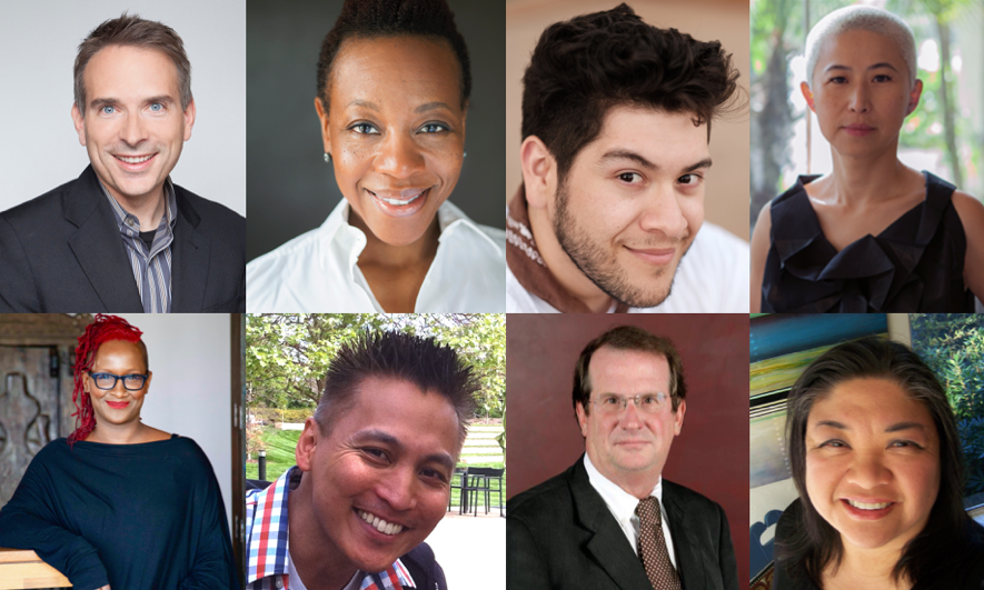 Headshots of the 8 industry judges for the 20th annual Fine Cut Film Festival.png