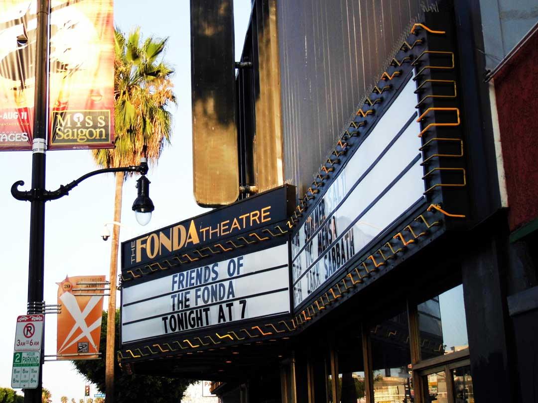 Fonda Theatre | Sandi Hemmerlein