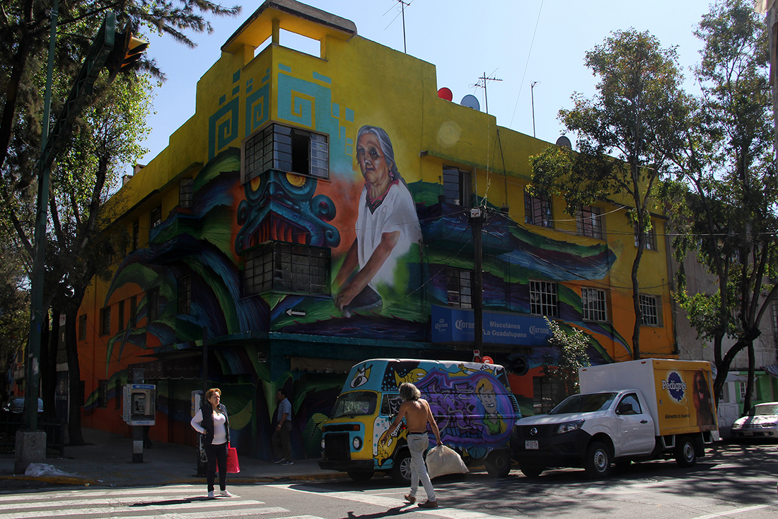 Murals in Mexico City | Marlene Vizuet