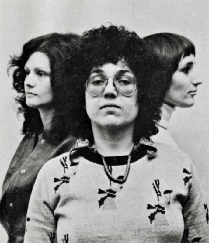 The Woman's Building Founders: Arlene Raven, Judy Chicago, Sheila de Bretteville