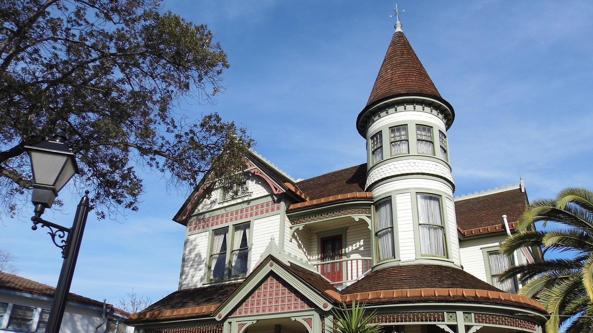 The John Woelke House at Founder's Park.