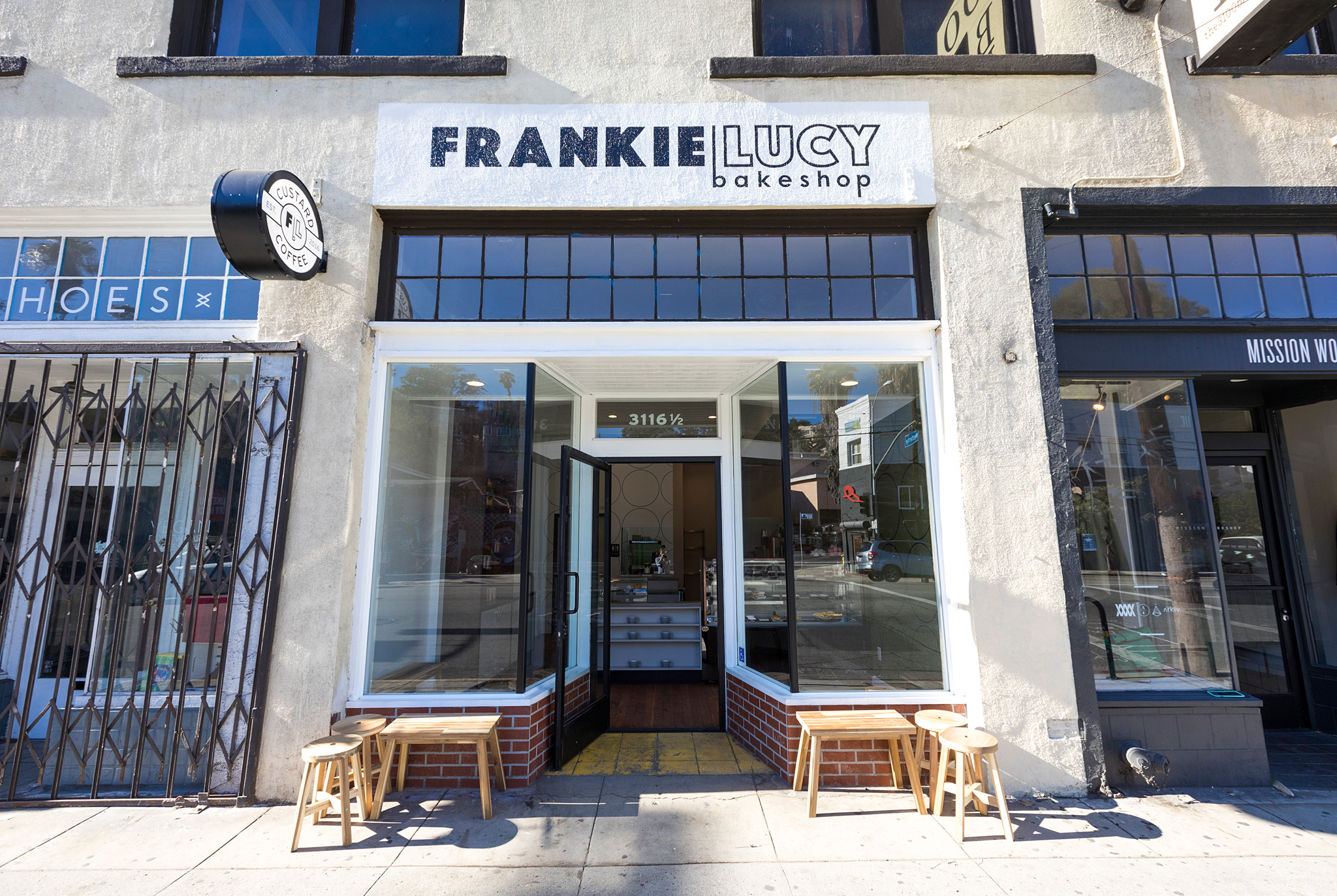 FrankieLucy Bakeshop on Sunset Blvd. | Jakob Layman