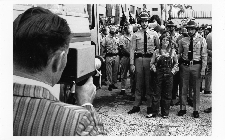 "Fred Lonidier, ""29 Arrests,"" 1972"