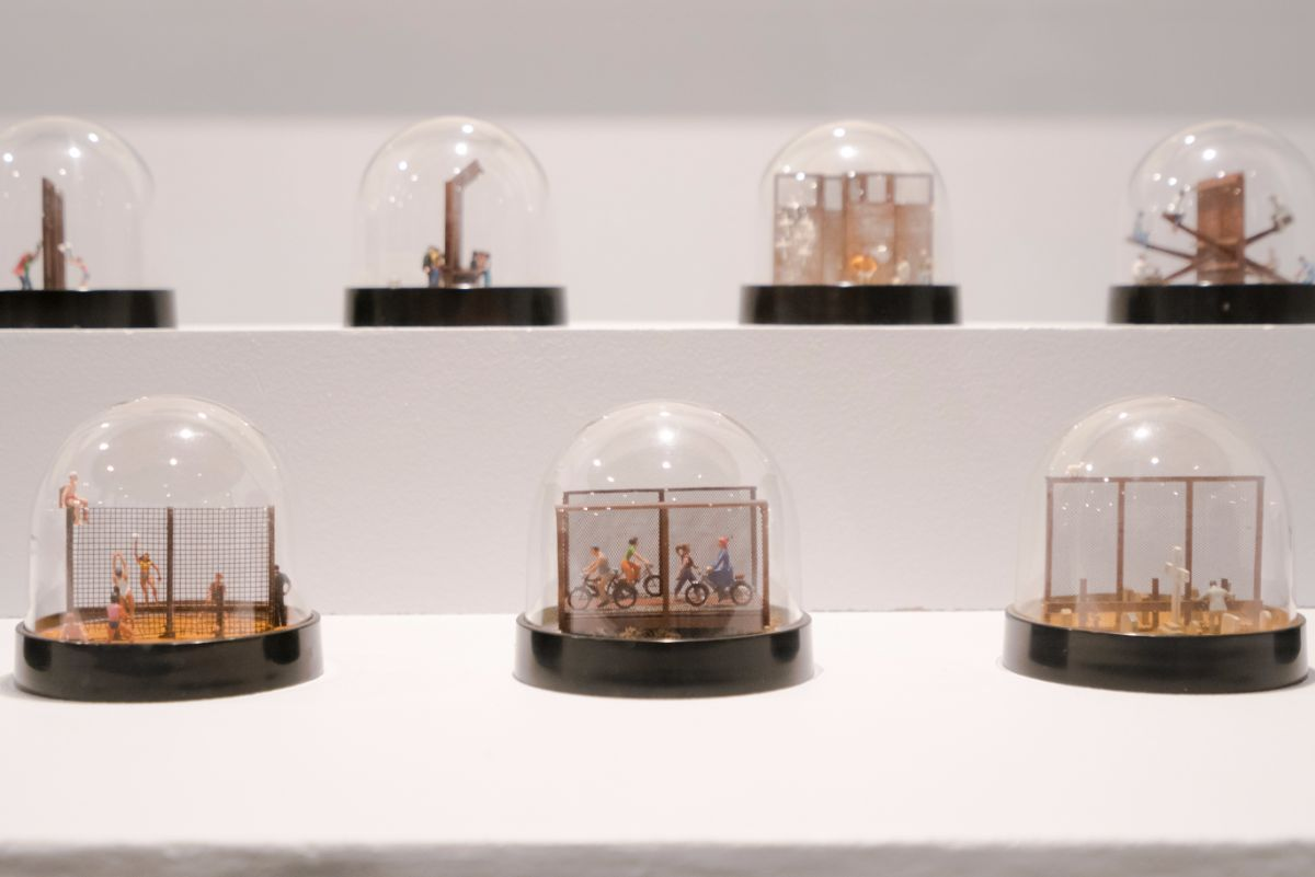 "Ronald Rael & Virginia San Fratello ""Snow Globes"" series 