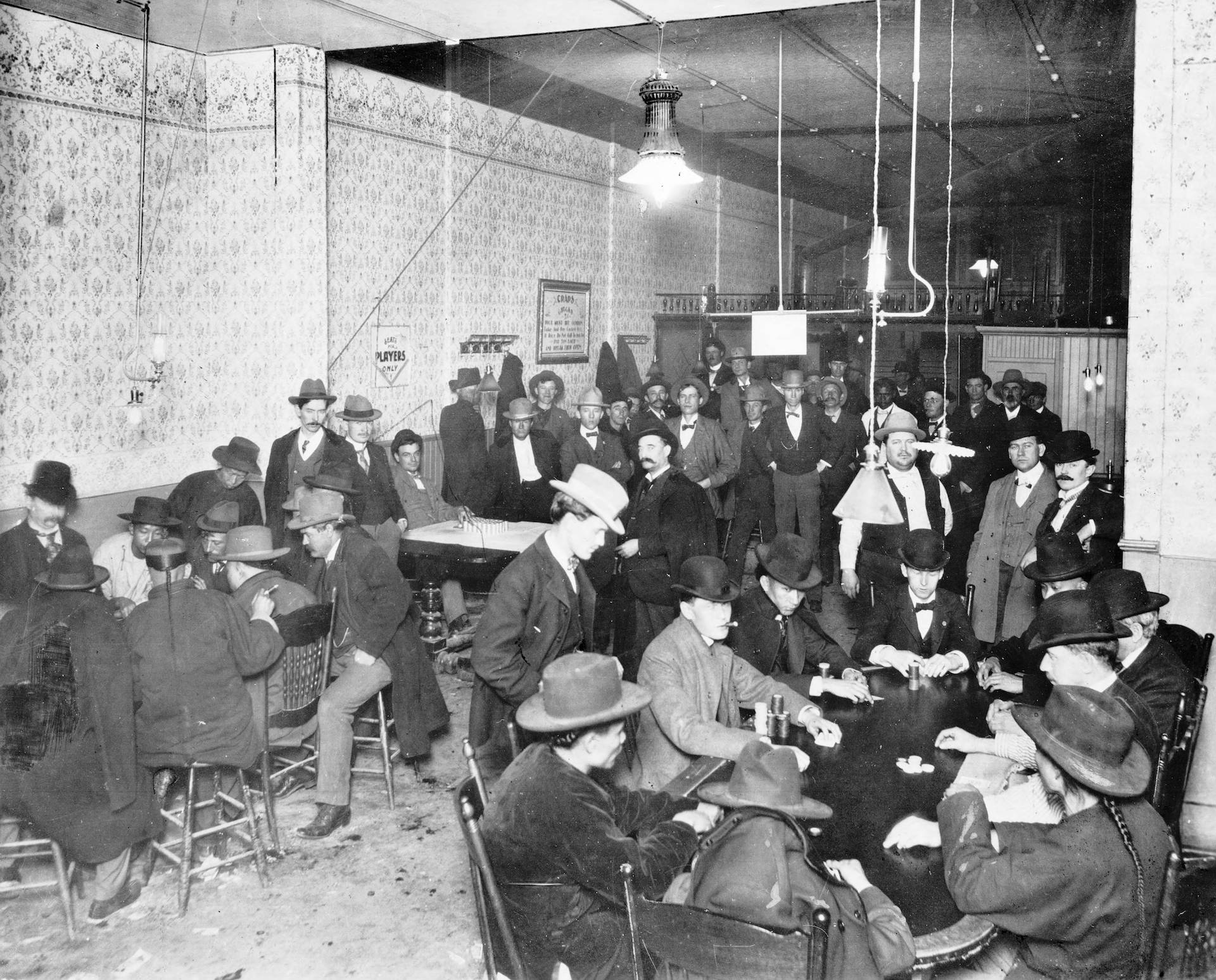 Gambling in Los Angeles, 1900