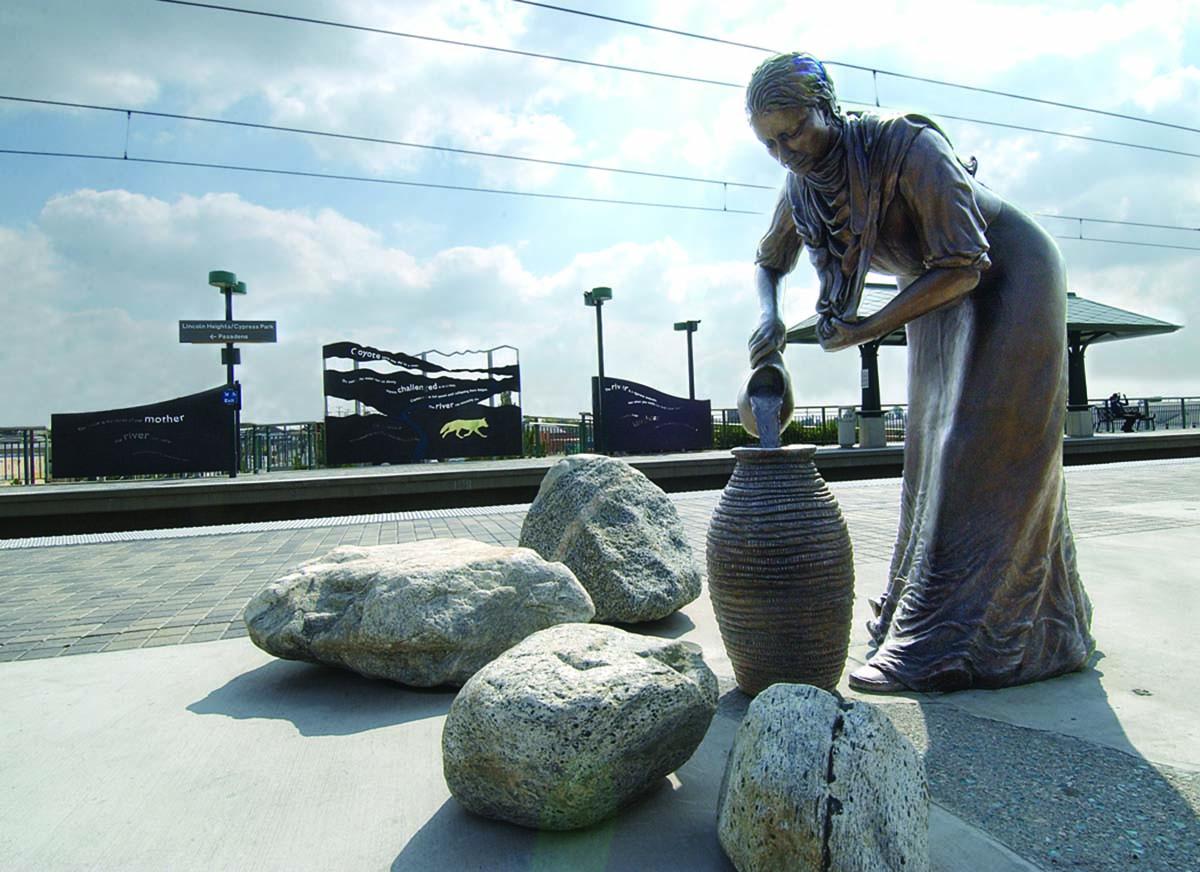 "Cheri Gaulke, ""Water Street: River of Dreams"" for Metro Station | Courtesy of the artist"